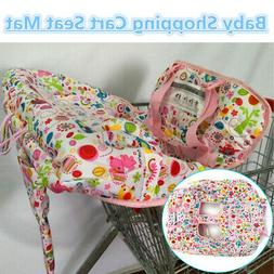 Baby Kid Market Shopping Trolley Cart Cover Seat Child Chair