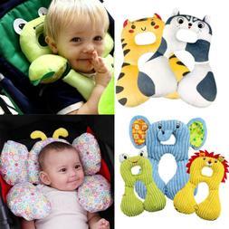 Baby Kids Anti-flat Head Pillow Pram Car Seat Cushion Neck S