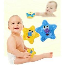 US Children Electronic Float Rotate Spray Water Starfish Bab