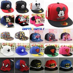 Baby Kids Boys Girls Baseball Cap Hip Hop Snapback Outdoor S