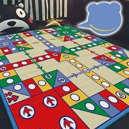 Baby Kids Flying Chess Carpet Educational Toy Crawling Mat,G