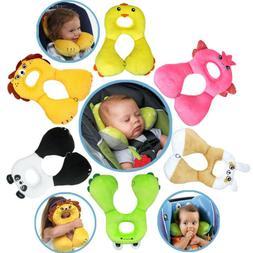Baby Kids Head Neck Support Pillow Headrest Travel Car Seat