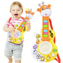 Baby Kids Musical Instrument Guitar Toys Multifunctional Edu