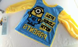 Baby L/S Shirt Despicable Me Minion Made - Still Lives With