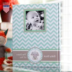 Baby Memory Book - Newborn Journal - Baby First Year Book Al