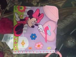 baby minnie mouse cloth soft book teether