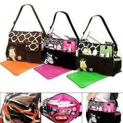 Baby Nappy Changing Bag Set Diaper Bags Shoulder Handbag Mom