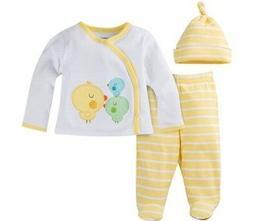 GERBER BABY Newborn Take-Me-Home 3-Piece Layette Unisex Gift
