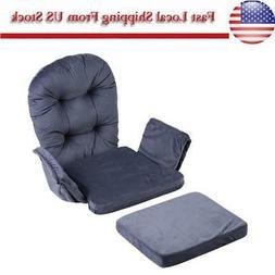 For Baby Nursery Rocker Rocking Chair Glider & Ottoman Stool