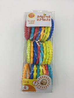 Baby Plastic Links toy Bright Starts Lots Of Links FlexiblyB