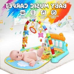Baby Play Mat Rug Toys Crawling and Kids Developing Music Ga