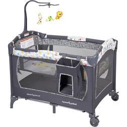 Baby Playard Bassinet Nursery Infant Activity Learning Toys