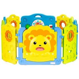 Baby Playpen 10 Panel Kids Activity Center Safety Play Yard