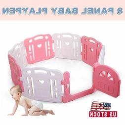 Tobbi Baby Playpen Safety Play Center Yard Baby Kids Home In