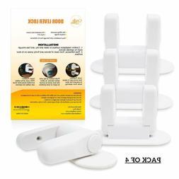 Baby Proofing Door Lever Locks -  | Door Handle Child Safety