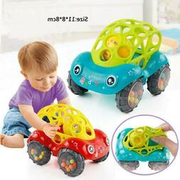 Baby Rattle Toys Cartoon Animal Running Car Musical Mobile I