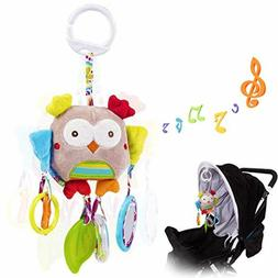 Baby Rattle Toys Infant Soft Hanging Rattles Newborn Strolle