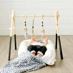 Baby Room Decor Play Gym Toy Wooden Nursery Sensory Toy Gift