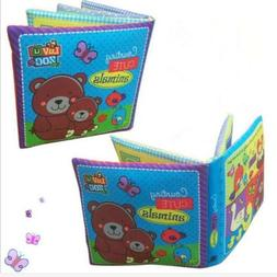 Baby's Non-Toxic Fabric Book Soft Cloth Book Educational Toy