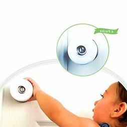 Baby Safety Door Knob Cover Babyproof 4 Pack Door Handle Sec