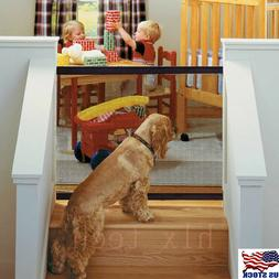Baby Safety Gate Child Toddler Pet Dog Cat Door Indoor Fence
