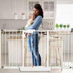 Baby Safety Gate Walk Thru Easy Step Toddler Pet Child Stair