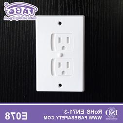 Baby Safety Self-Closing Electrical Outlet Covers Wall Socke