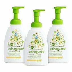 Babyganics Baby Shampoo + Body Wash Chamomile Verbena 16oz P