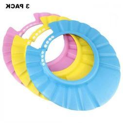 Baby Shampoo Shower Protection Cap Waterproof Bathing Hat-3