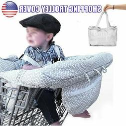 Baby Shopping Supermarket Trolley Cart Cover Seat Child High