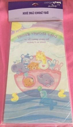 Hallmark Baby Shower Game Book- Baby Animals Unscramble Nurs
