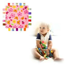 Baby Snuggle Blanket Cute Plush Security Blanket Toy for Inf