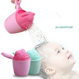 Baby Spoon Shower Bath Water Swimming Bailer Shampoo Cup Chi