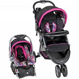 Baby Stroller + Car Seat Combo Walking Girl Toddler Travel S