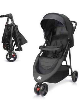 Meinkind Baby Stroller, Foldable Lightweight Baby Strollers