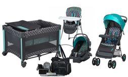 Baby Stroller with Car Seat Travel System Playard Crib High