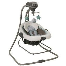 Baby Swing 6-Speed Removable Seat With 3 Soft Toys Music And