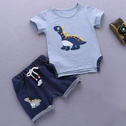 Baby Toddler Boys Summer Clothes Kids Outfits Suits Clothes