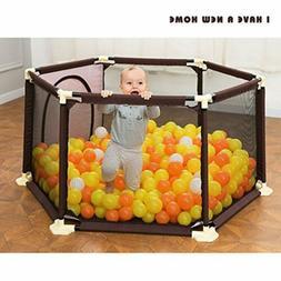 Baby Toddler Infant Portable Playard Playpen Activity Center