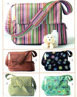 Butterick 4560 Baby Toddler Organizer Diaper Bag Toys Tote P
