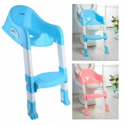 Baby Toddler Potty Training Step Trainer Kids Toilet Seat La