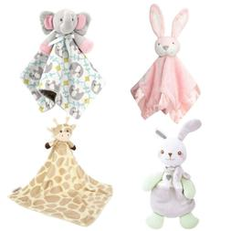 Zooawa Baby Toddles Security Blanket, Soft Stuffed Animal Pl