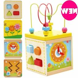 Baby Toys Multi Functional Gallery 5 In 1 Bead Clock Gear Mi