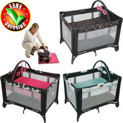 Baby Trend Playard Nursery Center Bassinet Pack N Pen Storag