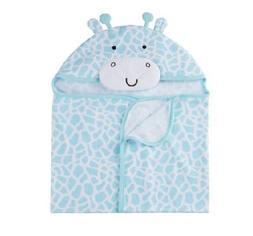 Gerber Baby Unisex Light Aqua Terry Hooded Bath Wrap BABY CL