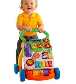 Baby Walker Vtech Learning Toy Toddler Activity Stand Toys P