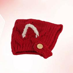 Baby Woolen Caps Girl Boy Warm Hats Elf Shaped Handmade Cute