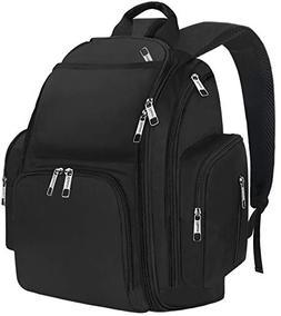 Backpack Diaper Bag, Large Multi-Function Waterproof Organiz