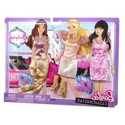 New in Box  Barbie Doll Clothes 3 outfits with accessories