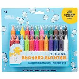 Bath Crayons Super Set - Set of 24 Draw in the Tub Colors wi